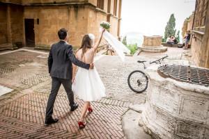 Fotografo per matrimonio a Pienza